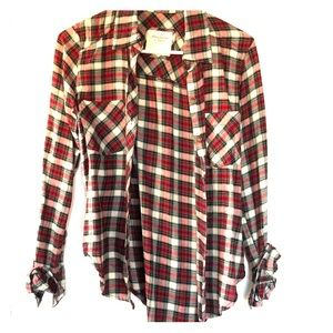 Flannel button down shirt from Abercrombie size XS